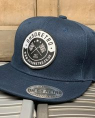 Navy Patch Snapback
